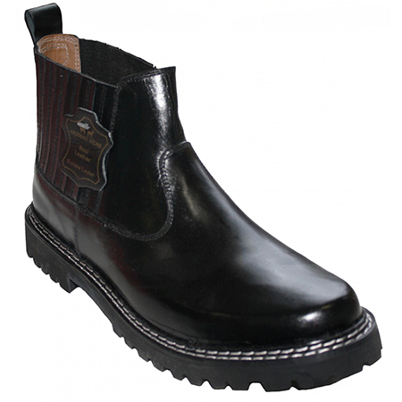 Black Leather Boots