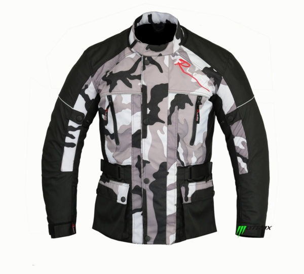 Men Camo Jacket Optimistic 2.0 Motrox Textile Wear