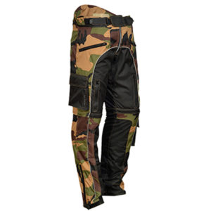 Camo Textile Motorcycle Trousers
