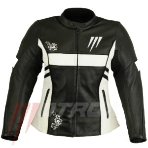 Motrox Ladies Leather Jacket Special Biker Chic 0