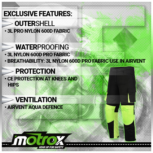 Motorcycle Textile Trouser