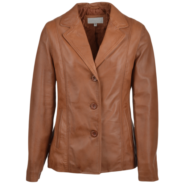Leather Coat Ladies