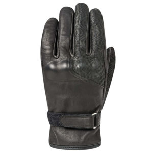 Leather Biker Gloves.